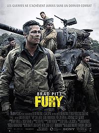 """Affiche """"Fury"""""""
