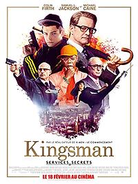 """Affiche """"Kingsman : Services Secrets"""""""