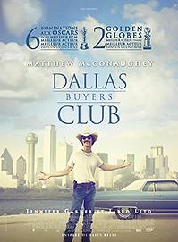 """Affiche """"Dallas Buyers Club"""""""