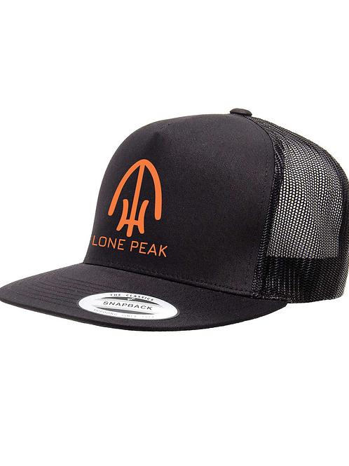 Lone Peak Staff Hat - Orange