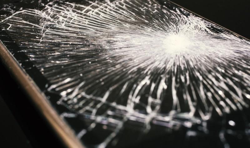 液晶不良・ガラス割れ