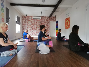 Yoga Studio Norwich students enjoying meditation