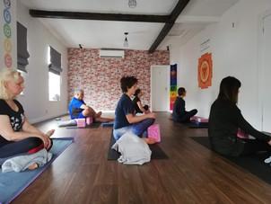 Yoga Studio Norwich students enjoying meditation