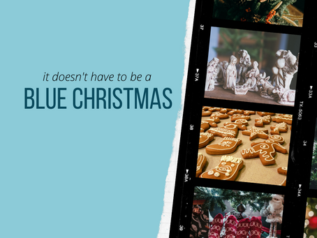 (it doesn't have to be a) Blue Christmas