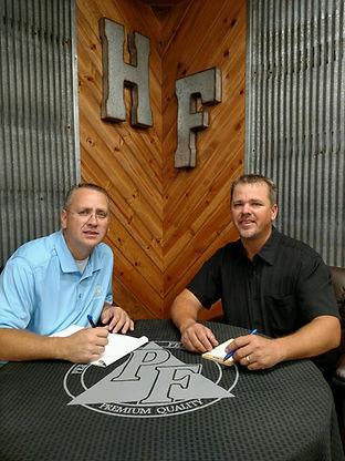Hanby Farms, Inc. executives