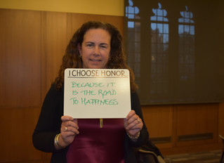 """""""The Path to Happiness"""": Dr. Shanahan on Living Honorably"""