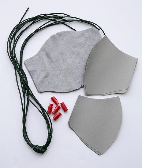 Face Masks DIY Sewing Kit - 5 Pack