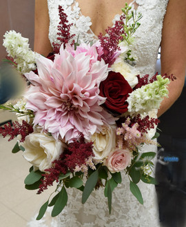 Bride with her gorgeous bouquet.jpg