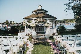 Wedding ceremony gazebo