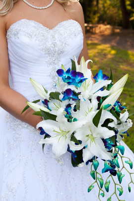 Bride's cascade bouquet