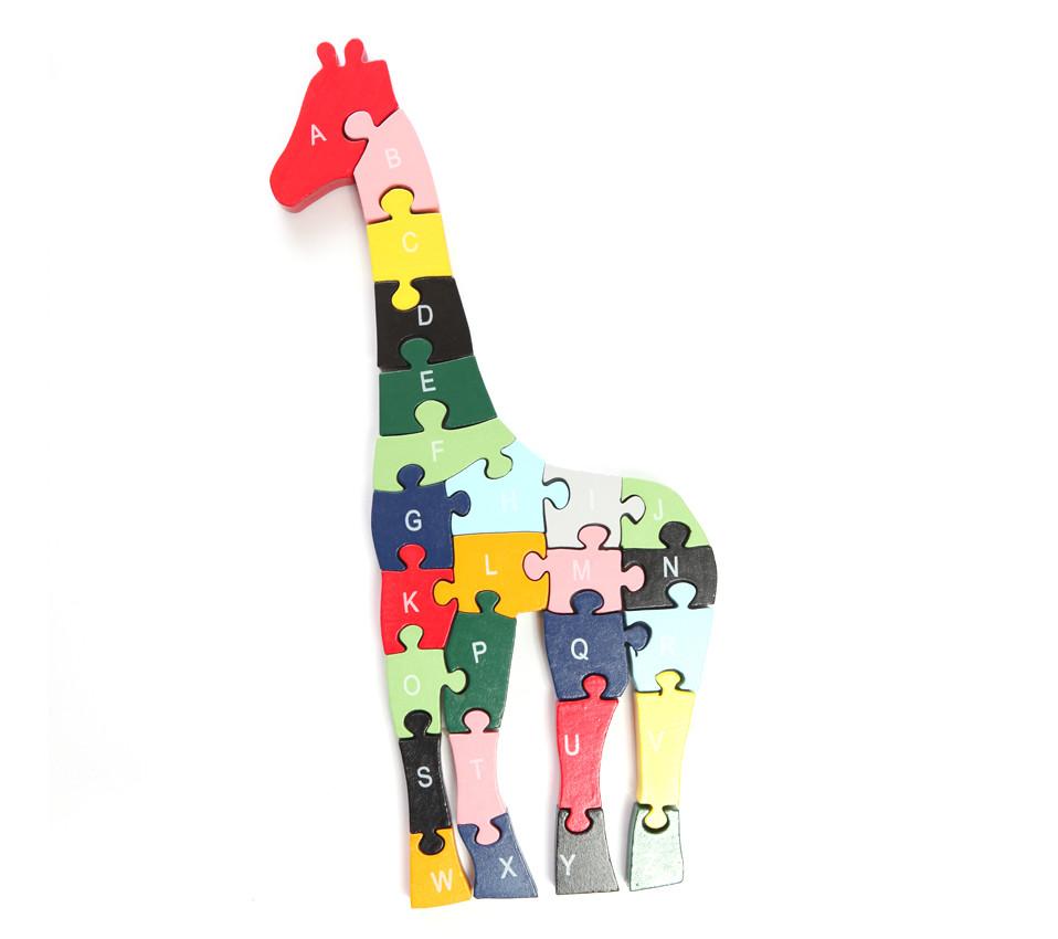 Komplette Giraffe Puzzle