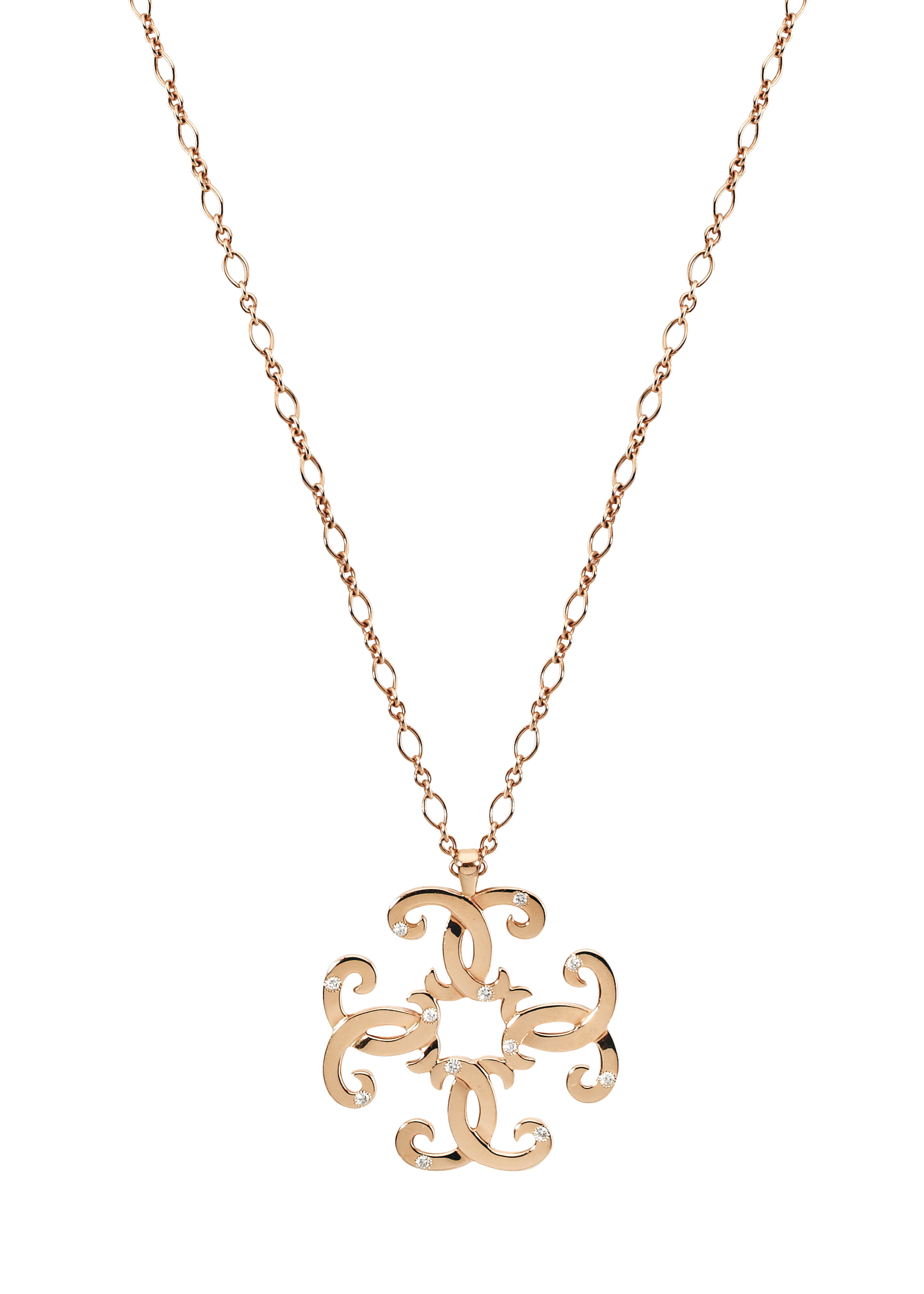 HEDONE ROMANE Rusalka quad necklace