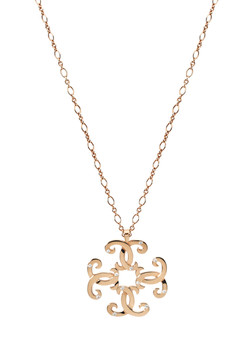 HEDONE ROMANE Rusalka quad necklace