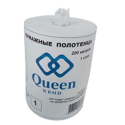 Бумажные полотенца с центральной вытяжкой