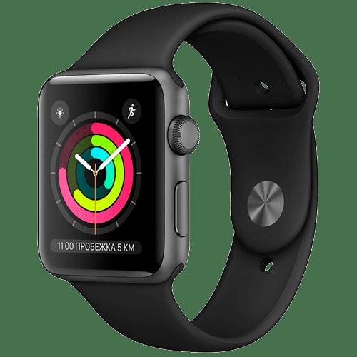 Apple Watch Series 3 42 mm black