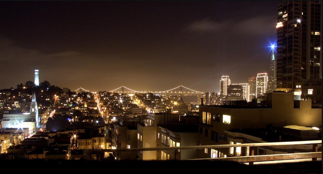 시내 야경