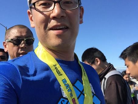 전무후무, '베이투브래커스' 마라톤 대회