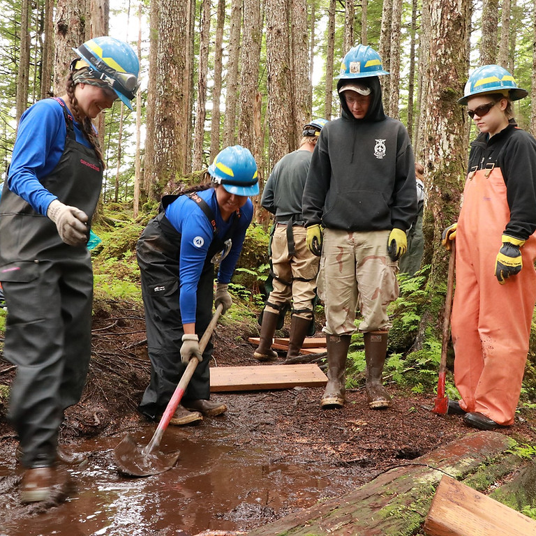 Blackstone Bay Campsite Hardening and Outhouse Construction
