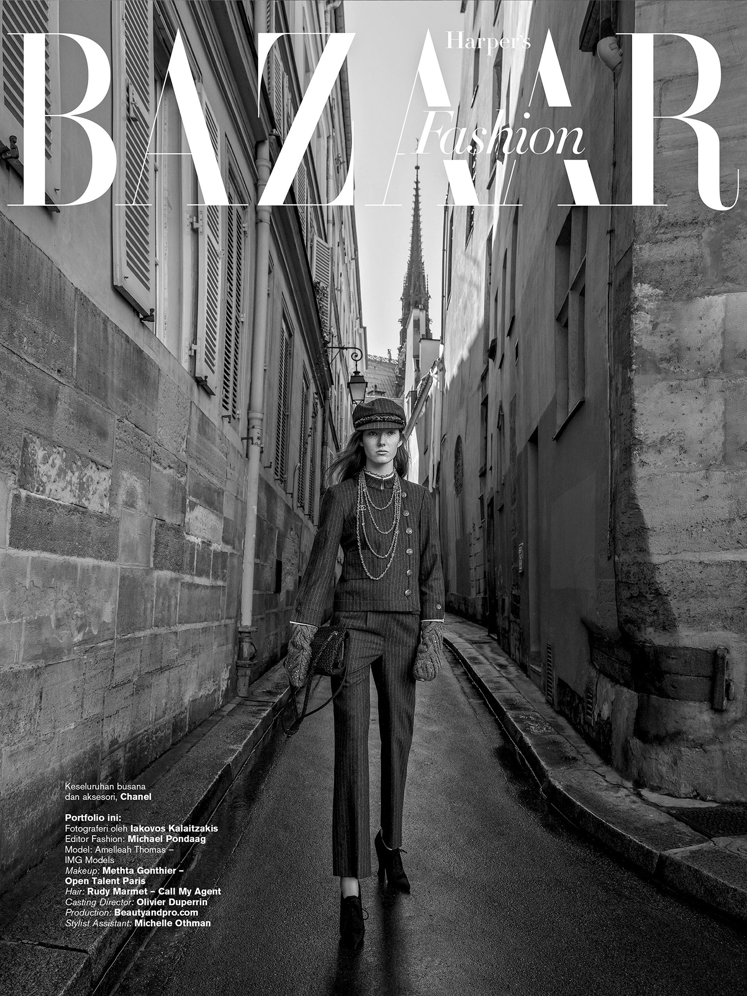 Harpers Bazaar ID COVER page