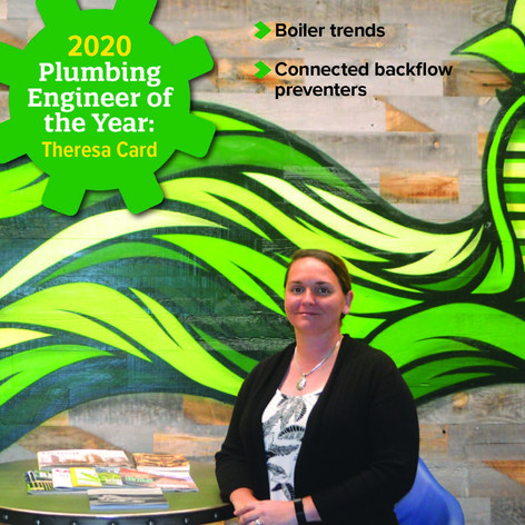 Theresa Card Named Plumbing Engineer of the Year
