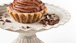 Chocolate cream tarts