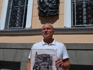 В акции ленинградских комсомольцев против памятной доски Маннергейму, принял участие руководитель фр