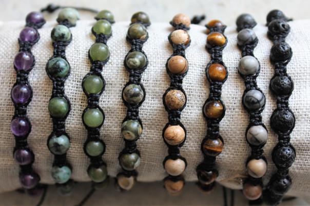 "Bracelets ""Shamballa"" homme"