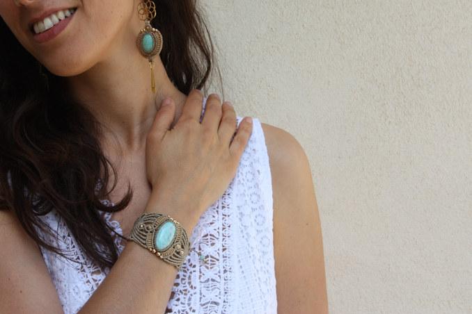 Ensemble boucles/bracelet