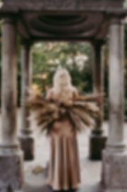 NYC Autumn Flower Fairy Photoshoot in Th