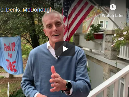 Denis McDonough, Chief of Staff to Barack Obama | A Pennsylvania Neighborhood 'Bloc' Party