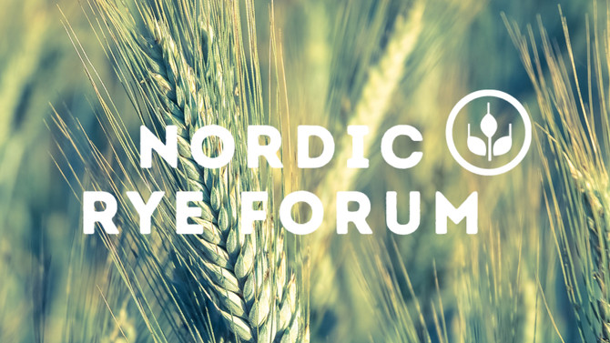 Formation of the Nordic Rye Forum - collaboration for innovation and research in rye
