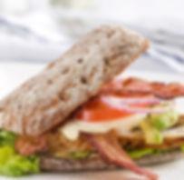 Rye Recipes - Club Sandwich