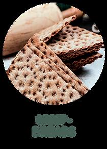 Crispbreads of rye