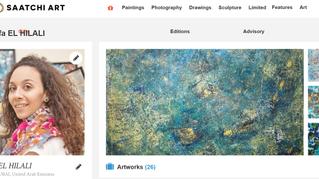 My Art and Saatchi Gallery!