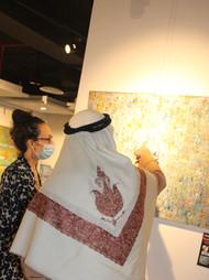 """Transcendence"" Art Exhibition at Studio Seven, Dubai, United Arab Emirates"