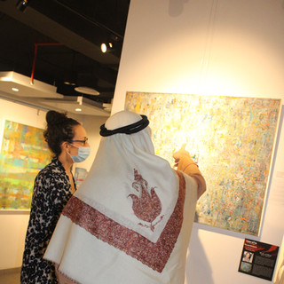 """Transcendence"" Art Exhibition at Studio Seven, Dubai, United Arab Emirates"