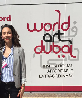 And here i am showcasing my work at World Art Dubai - April 6 to 9, 2016 - Stand: B13