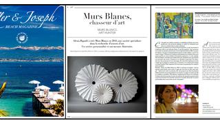 """Vue sur la mer"" featured in Keller& Joseph Magazine - Summer Edition 2017"