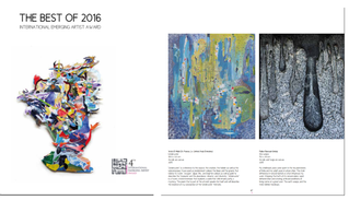 The 2016 Best of International Emerging Artist Award Coffee Table Book is out!!