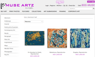 """Going """"Print"""" with Muse Artz Gallery !"""