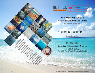 """Underwater"" hits the Sea Exhibition at Abu Dhabi Art Hub @The Mall World Trade Center Abu"