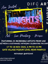 """Bits & Pieces"" celebrating Sustainability & Earth @ DIFC Art Nights, Dubai"