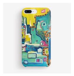 """""""Vue sur la mer"""" Phone case"""