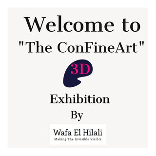 "The ""ConFineArt 3D"" Exhibition is  going Live!"