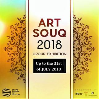 Art Souq 2018 @ Etihad Modern Art Gallery