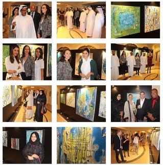"""""""Perspective Art Exhibition"""" at St Regis Hotel, Le Patio, Dubai!"""""""