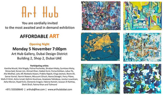 Joining Affordable Art with Mixed Media @ At Hub Dubai Design District