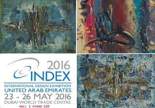 Participation at the INDEX 2016, the International Design  Exhibition - Dubai - 23rd to 26th of May