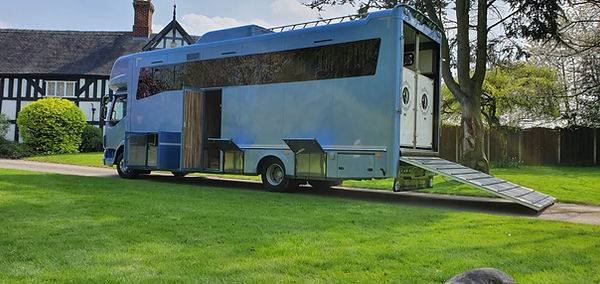 BRAND NEW COACHBUILT 12TON WITH POP OUT