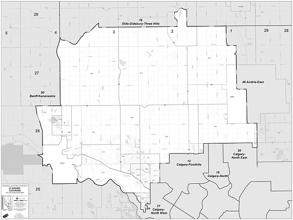 Airdrie-Cochrane Map.png